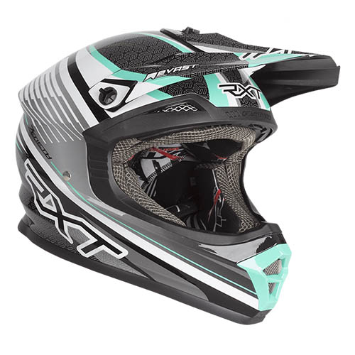 ZENETH II BLACK WHITE TEAL